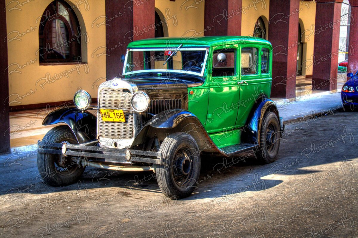 1930 1931 Ford Model A on the streets of Havana Cuba 1 scaled