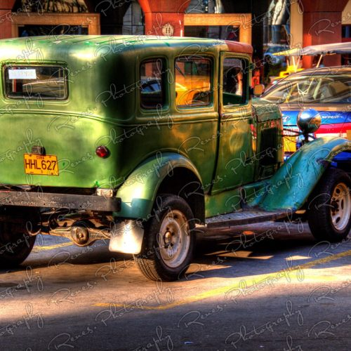 1930 1931 Ford Model A on the streets of Havana Cuba 2 scaled