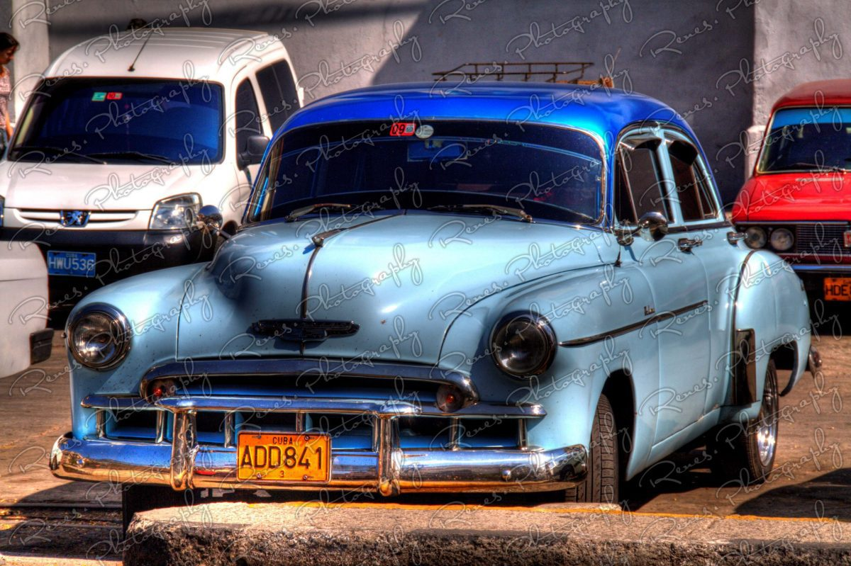 1949 Chevrolet DeLuxe on the streets of Havana Cuba 3 scaled