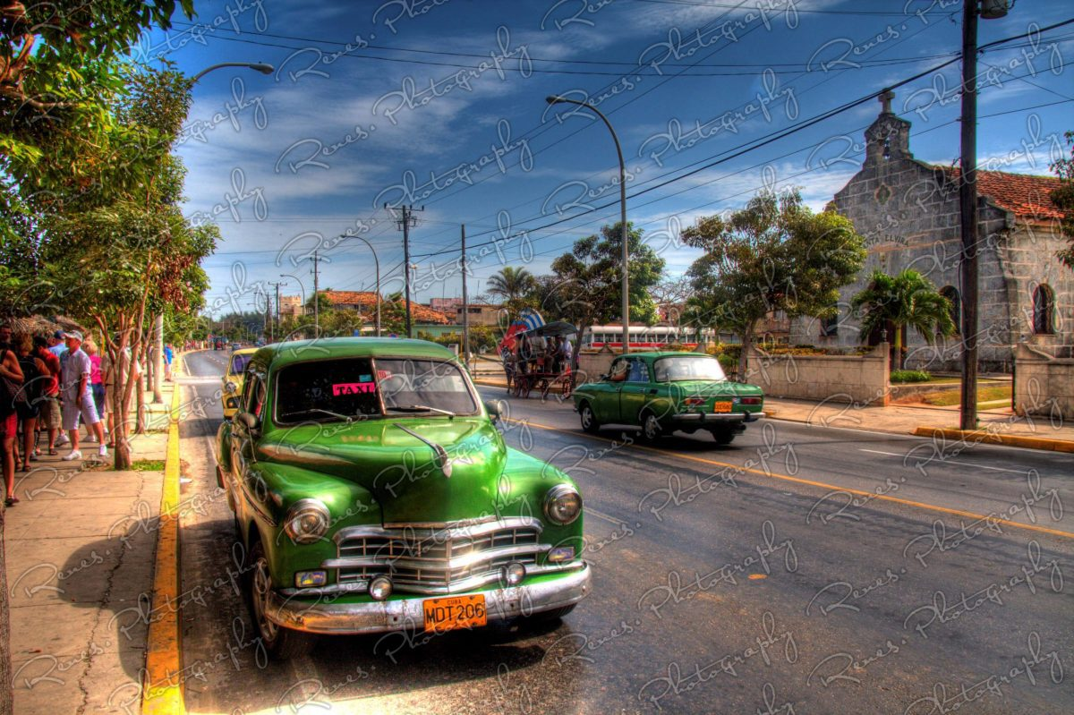1949 Dodge Kingsway on the streets of Varadero Cuba 1 scaled