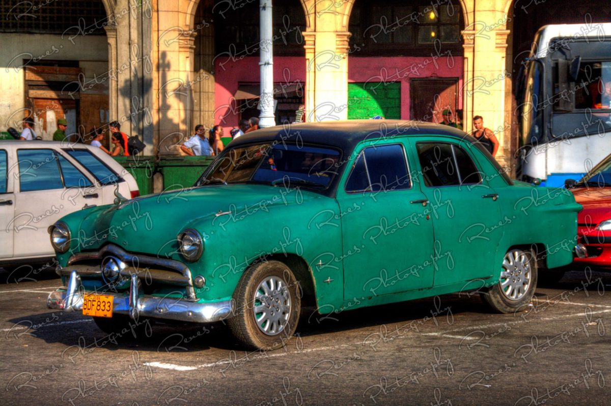 1949 Ford on the streets of Havana Cuba 1 scaled