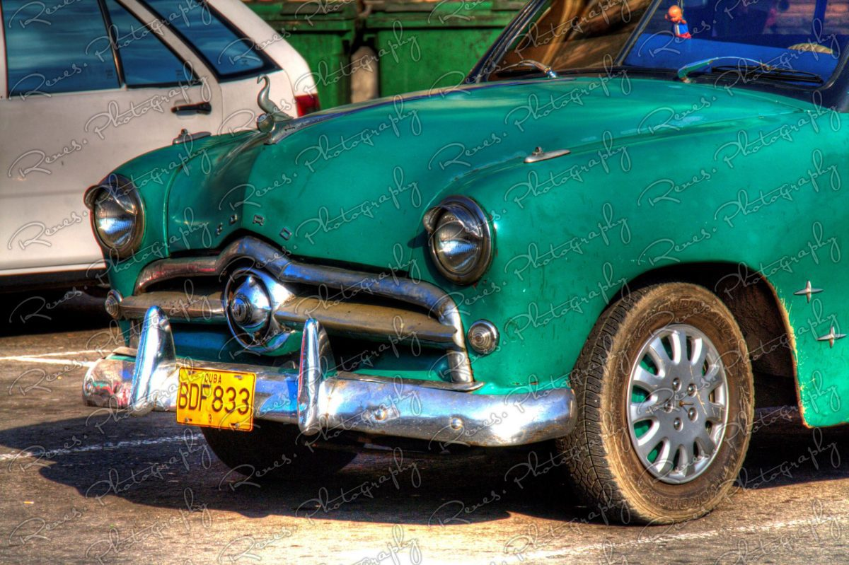 1949 Ford on the streets of Havana Cuba 2 scaled