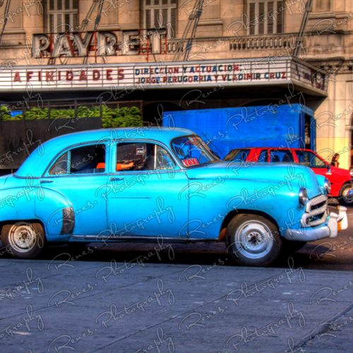 1951 Chevrolet Bel Air on the streets of Havana Cuba 1 scaled