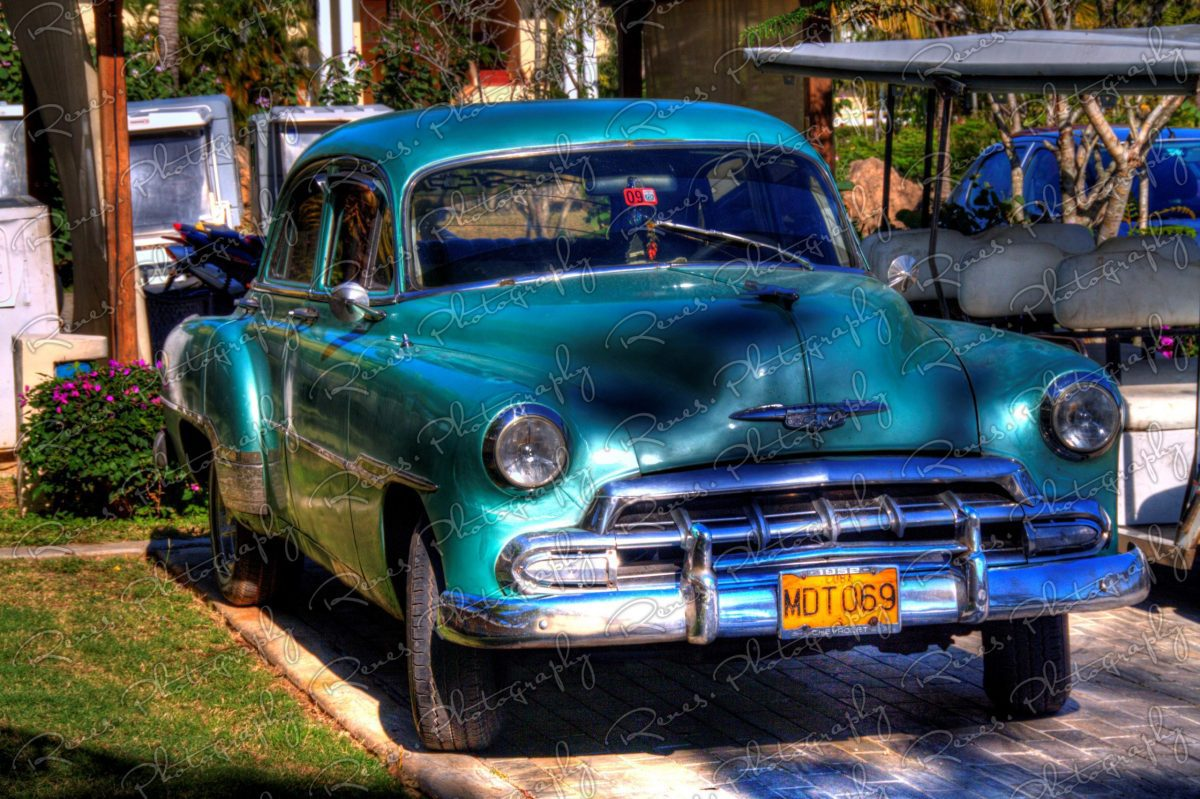 1951 Chevrolet Bel Air on the streets of Varadero Cuba 1 scaled
