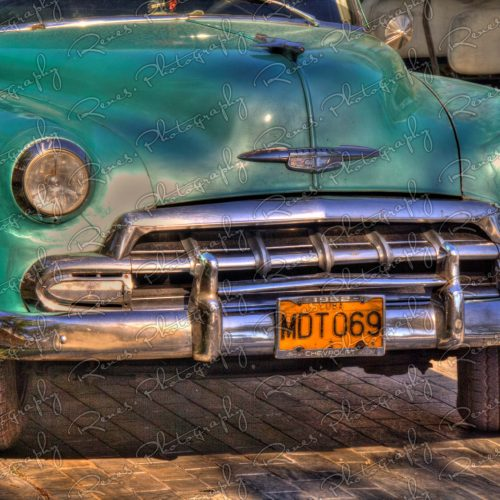1951 Chevrolet Bel Air on the streets of Varadero Cuba 2 scaled