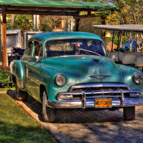 1951 Chevrolet Bel Air on the streets of Varadero Cuba 3 scaled