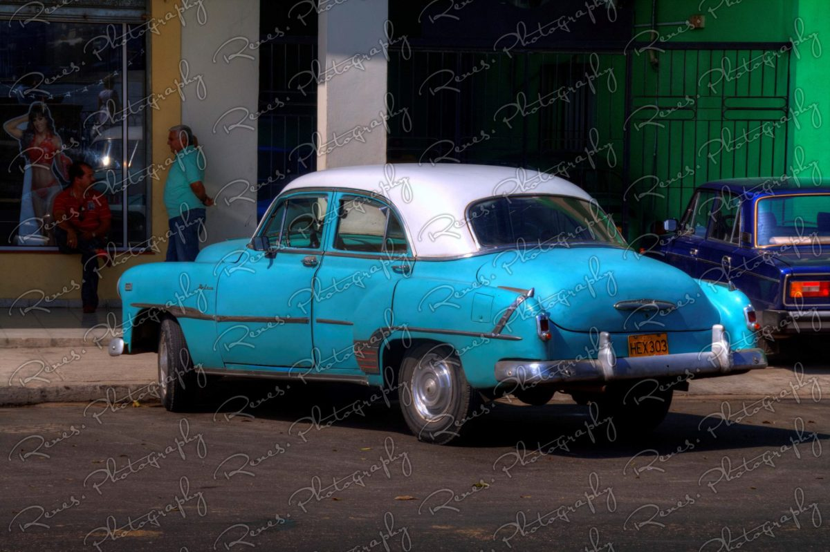 1951 Chevrolet on the streets of Havana Cuba 1 scaled
