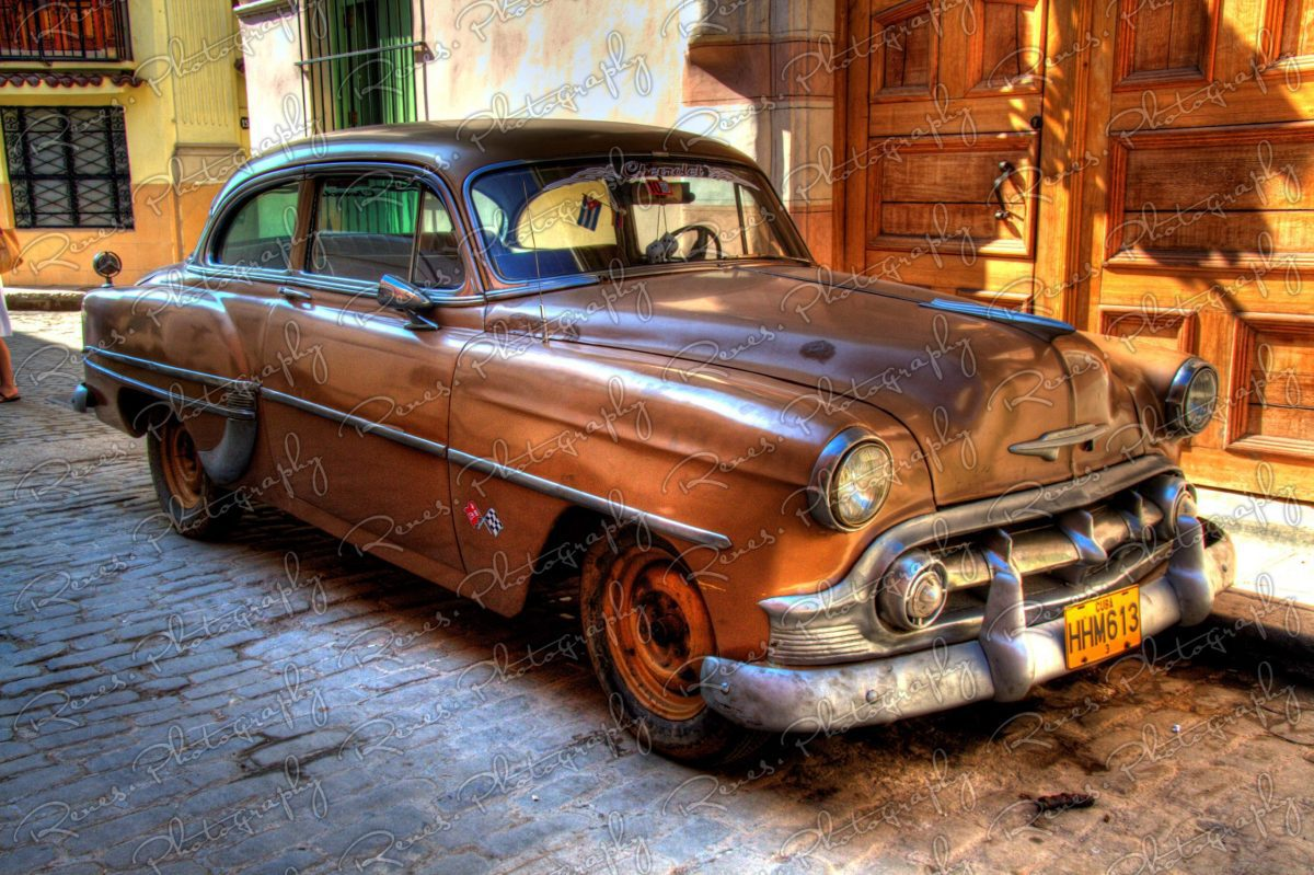 1953 Chevrolet on the streets of Havana Cuba 2 scaled