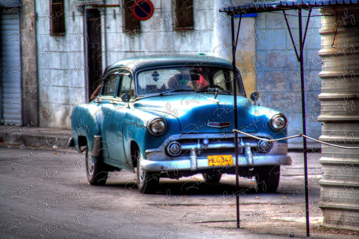 1953 Chevrolet on the streets of Havana Cuba 3 scaled