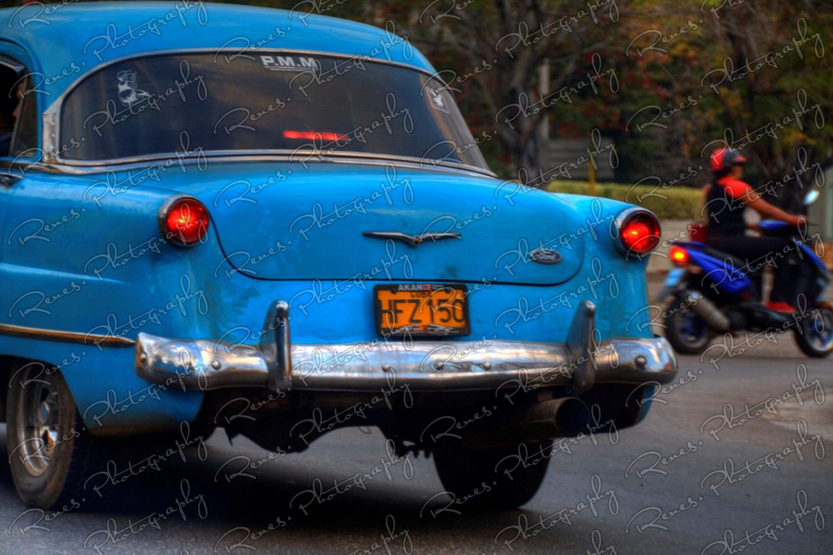 1953 Ford on the streets of Havana Cuba 1 scaled
