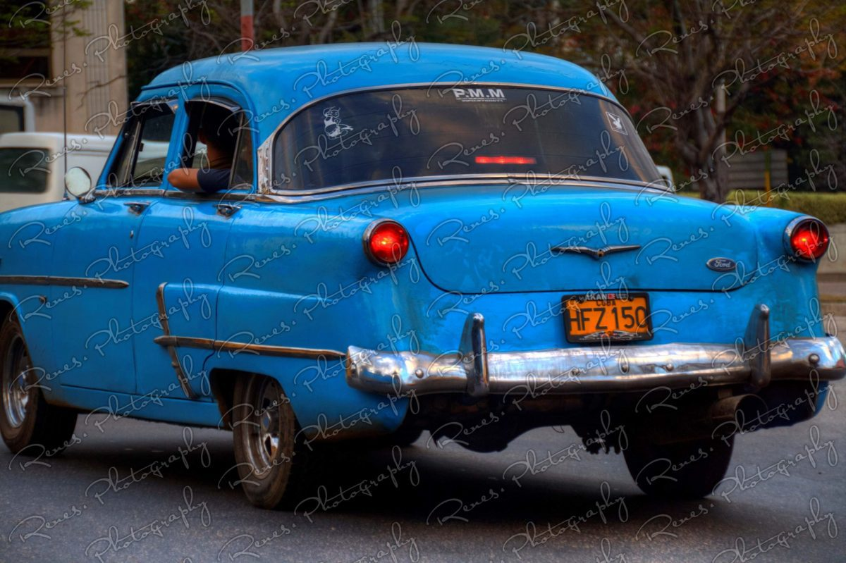 1953 Ford on the streets of Havana Cuba 3 scaled