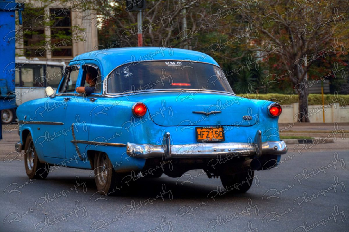 1953 Ford on the streets of Havana Cuba 4 scaled