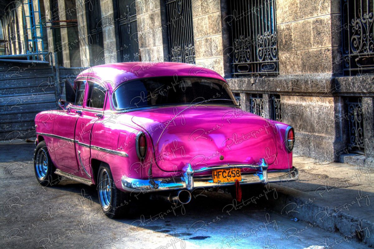 1954 Chevrolet on the streets of Havana Cuba 3 scaled