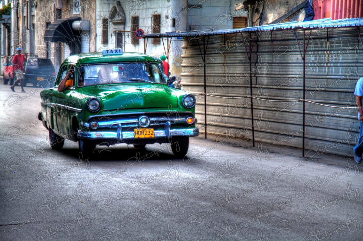 1954 Ford on the streets of Havana Cuba 1 scaled