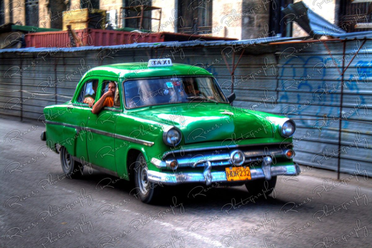 1954 Ford on the streets of Havana Cuba 2 scaled