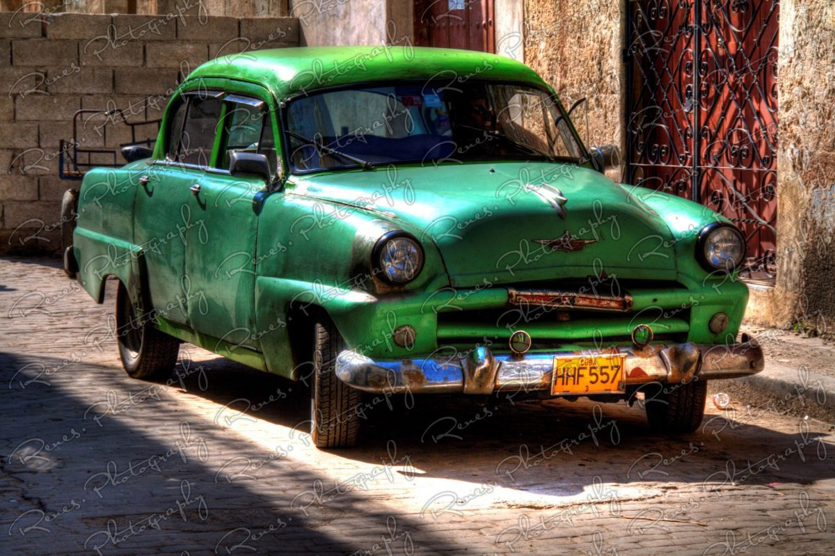 1954 Plymouth on the streets of Havana Cuba 1 scaled
