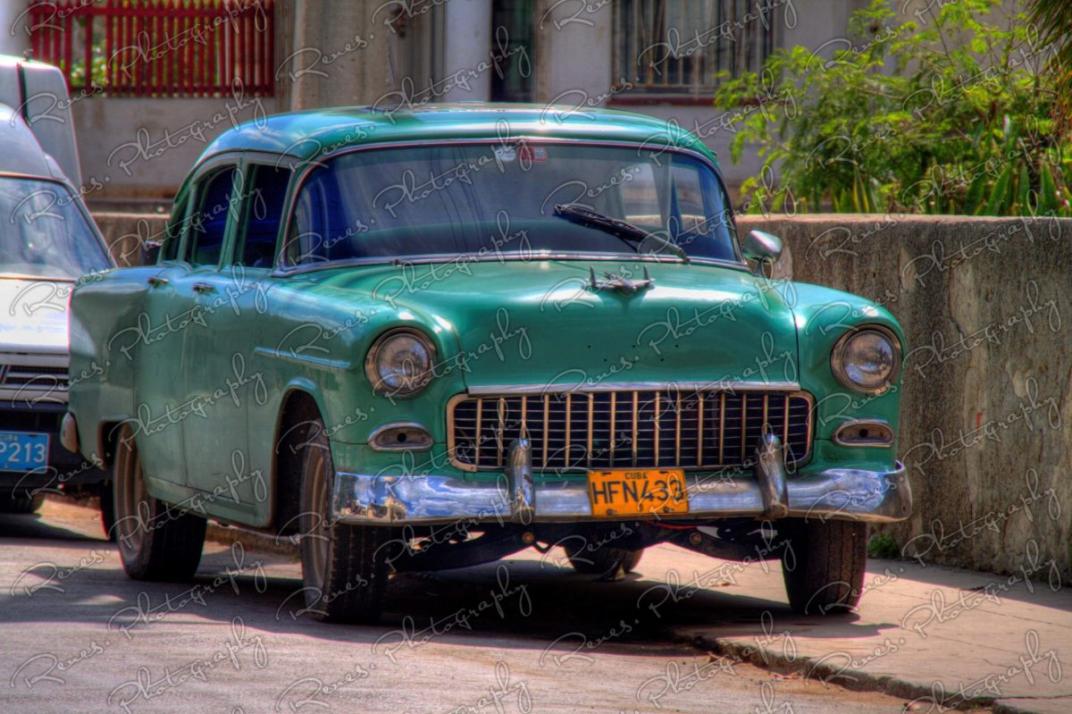 1955 Chevrolet 150 on the streets of Cojimar Cuba 1 scaled