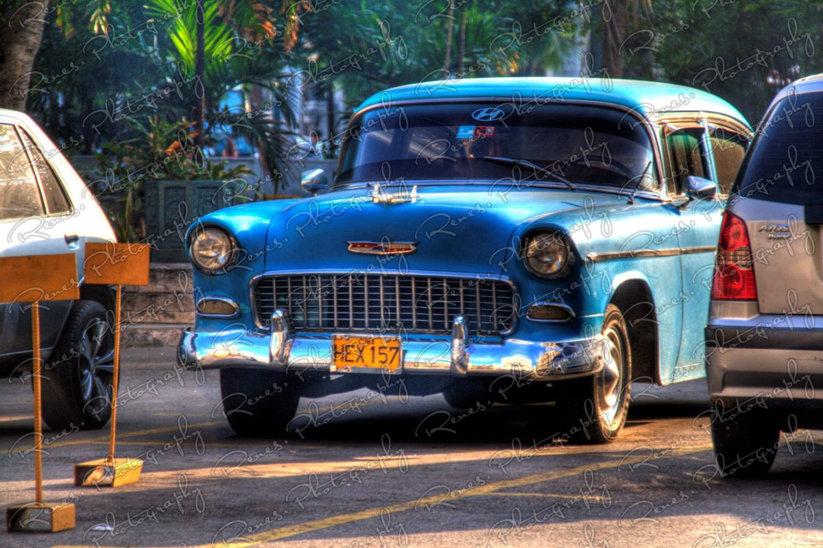 1955 Chevrolet Bel Air on the Streets of Havana Cuba 1 scaled