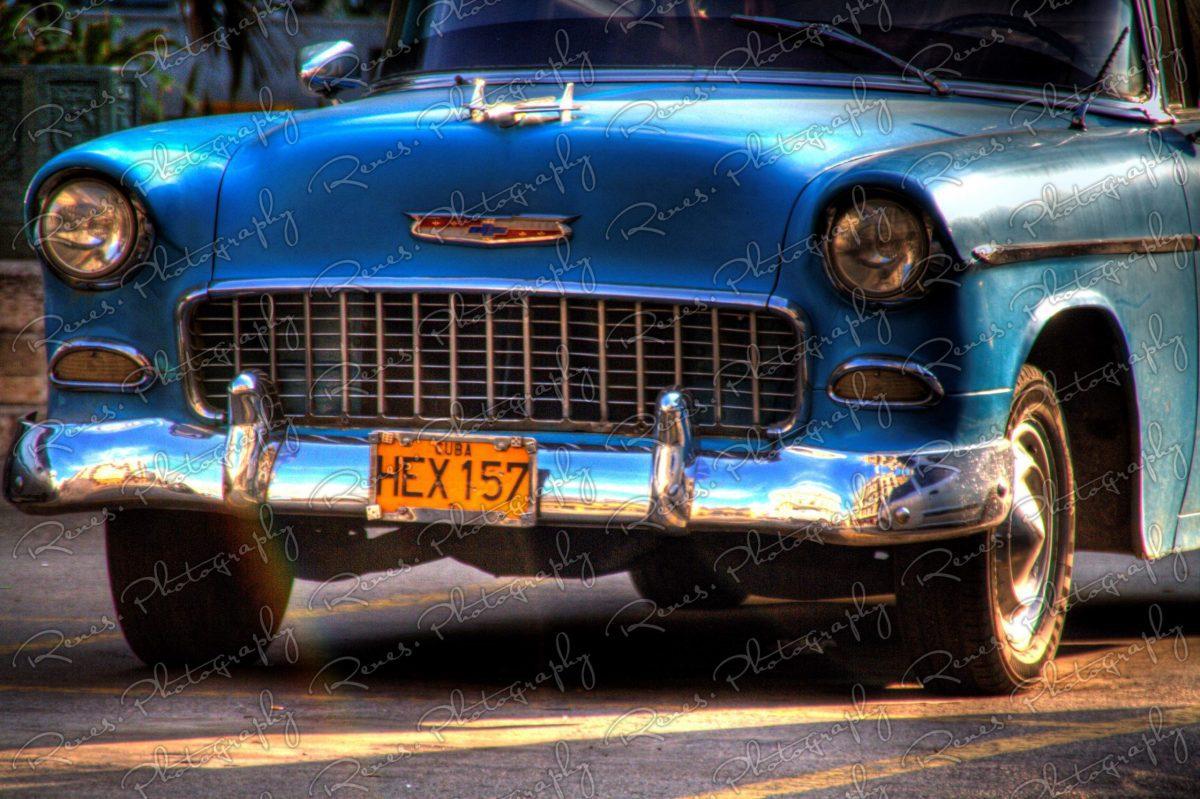 1955 Chevrolet Bel Air on the Streets of Havana Cuba 2 scaled