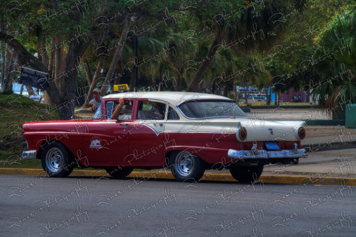 1956 Chevrolet 210 on the streets of Varadero Cuba 1 scaled