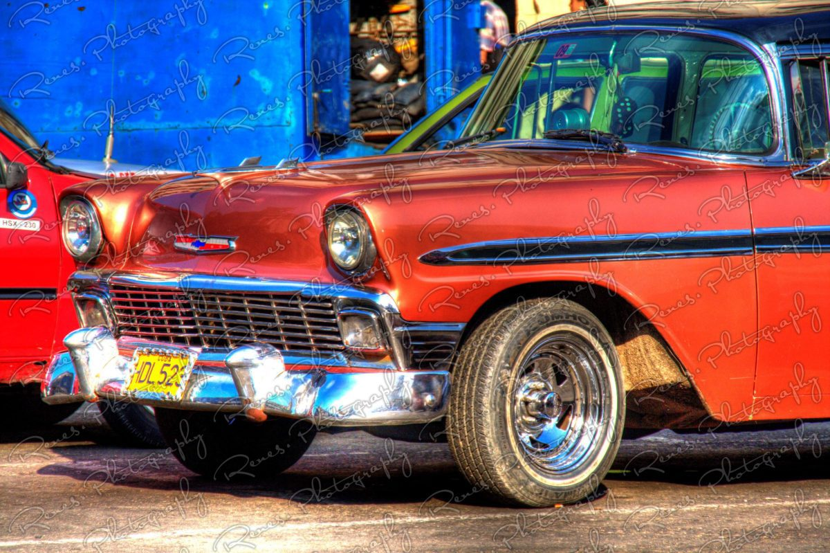 1956 Chevrolet Bel Air on the streets of Havana Cuba 2 scaled