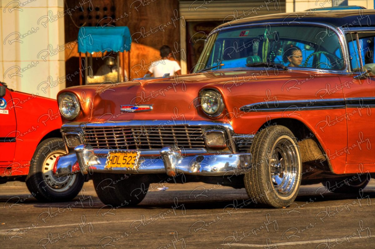 1956 Chevrolet Bel Air on the streets of Havana Cuba 8 scaled