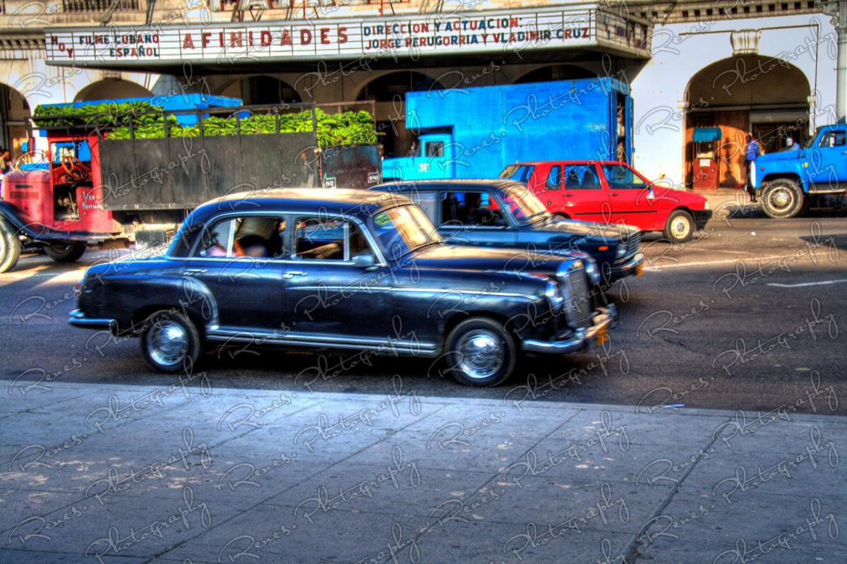 1956 Mercedes Benz on the streets of Havana Cuba 1 scaled