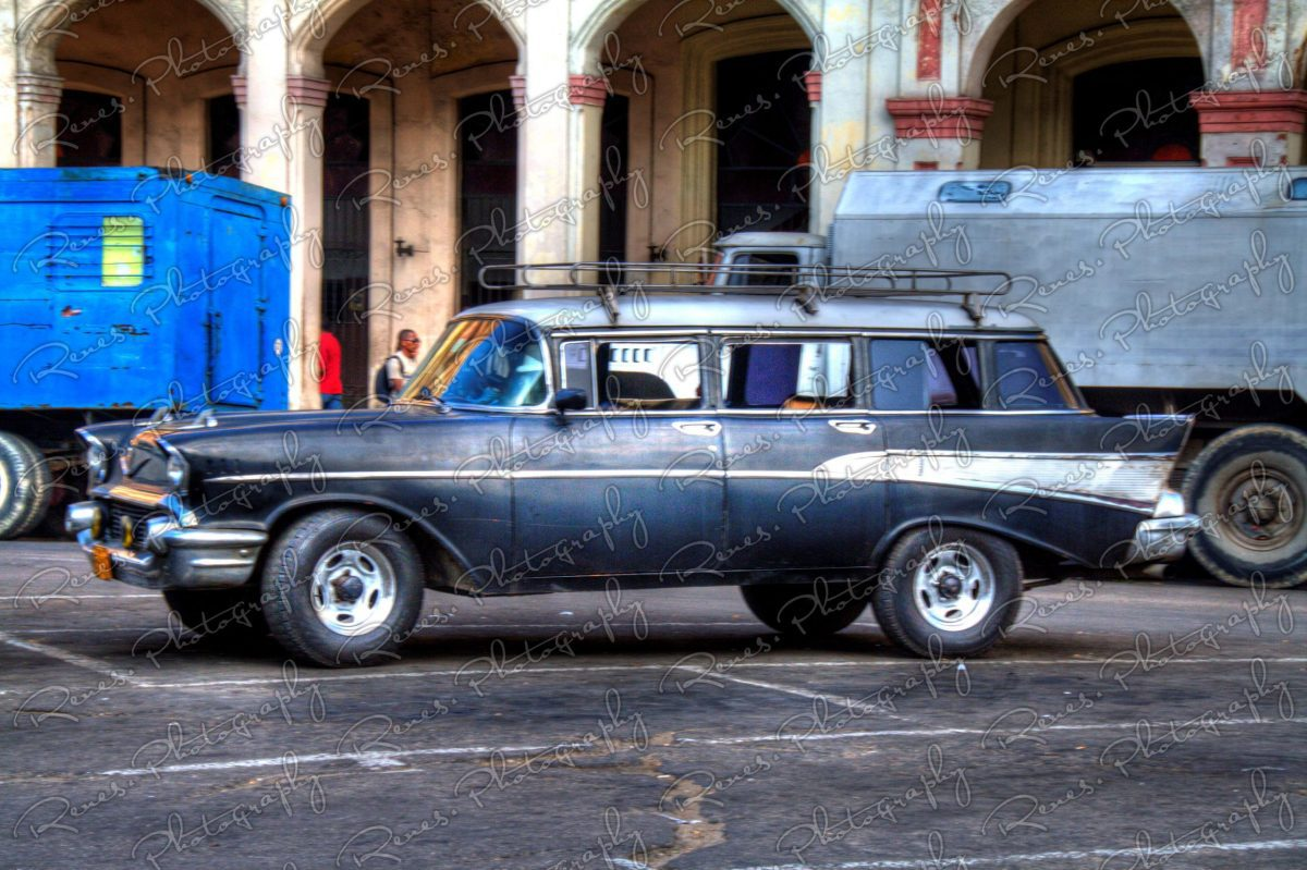 1957 Chevrolet Bel Air Station Wagon on the streets of Havana Cuba 1 scaled