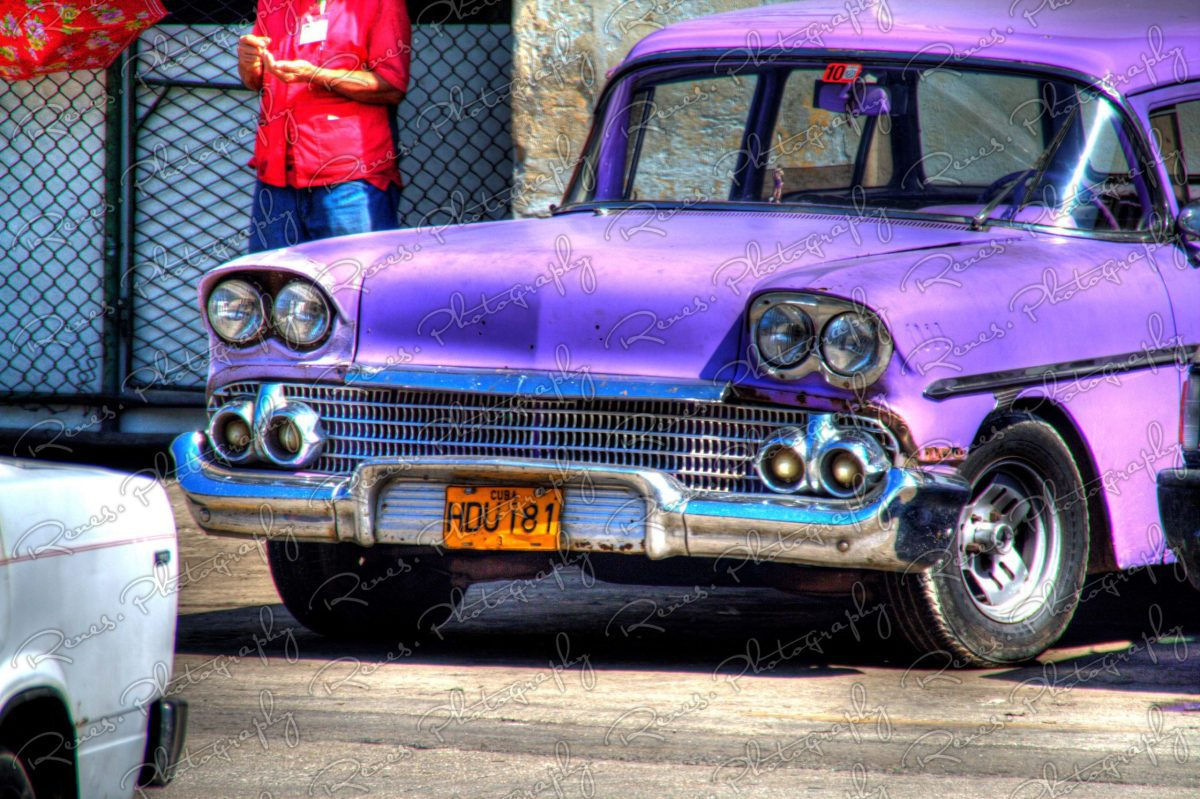 1958 Chevrolet on the streets of Havana Cuba 1 scaled