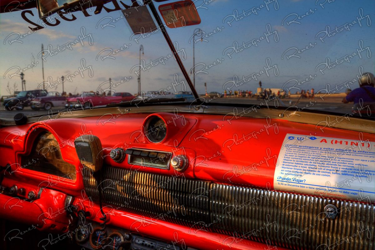 Drive along the Malecon in a 1952 Oldsmobile convertable on the streets of Havana Cuba 1 scaled