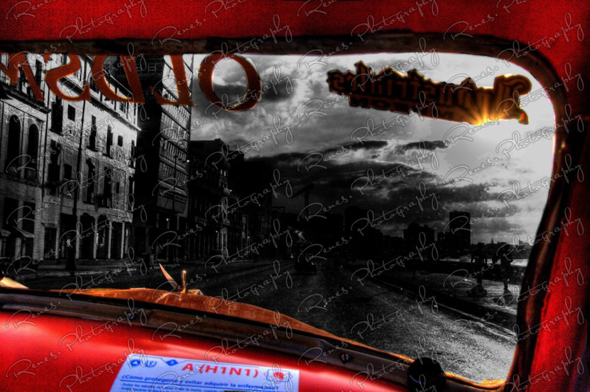 Drive along the Malecon in a 1952 Oldsmobile convertable on the streets of Havana Cuba 2 scaled