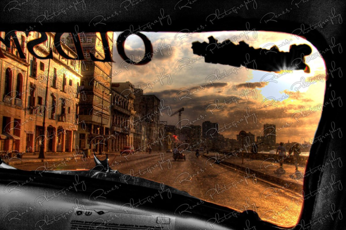 Drive along the Malecon in a 1952 Oldsmobile convertable on the streets of Havana Cuba 3 scaled