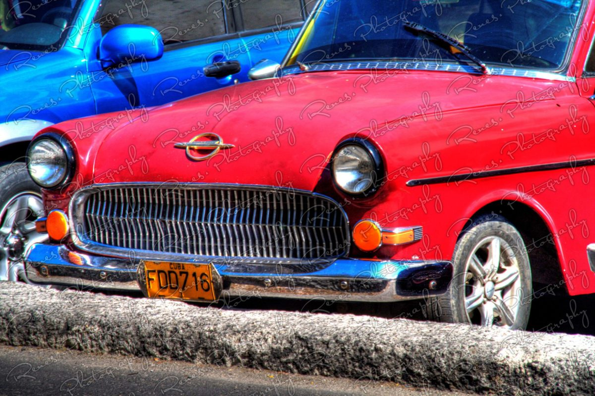 Opel Olympia Rekord P1 on the streets of Havana Cuba 1 scaled