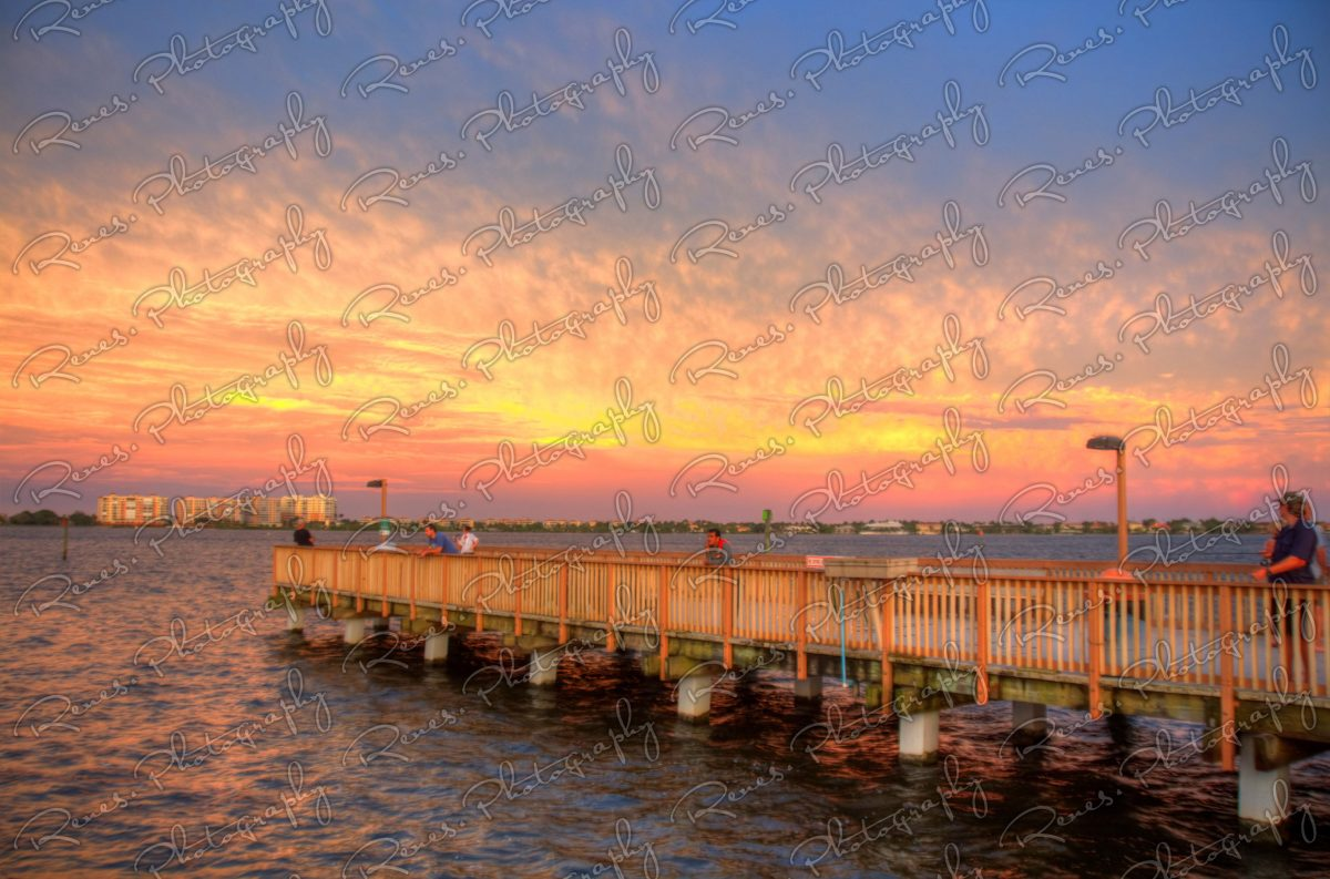 Sunset in Cape Coral Florida 2 scaled