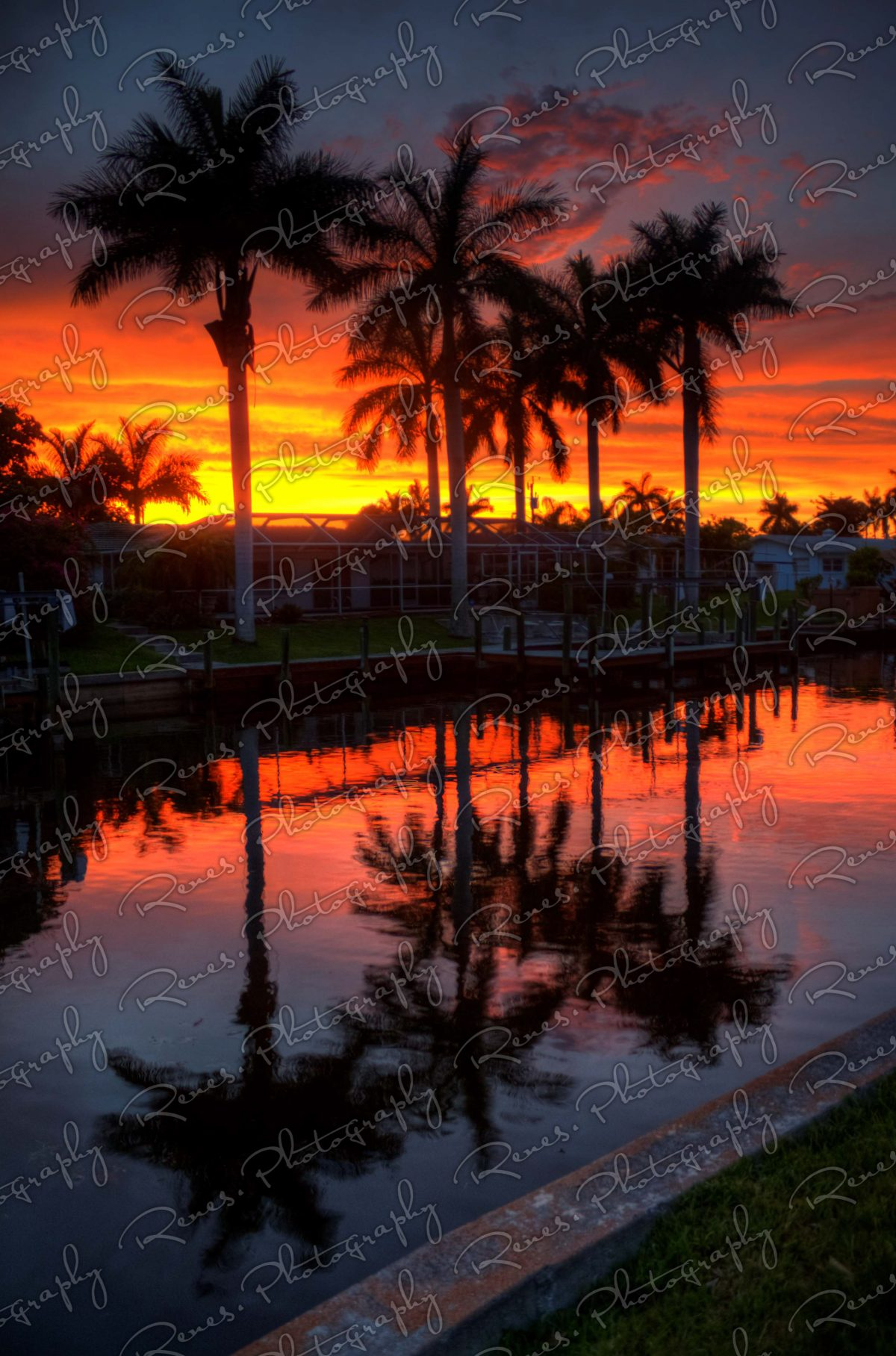 Sunset in Cape Coral Florida 4 scaled